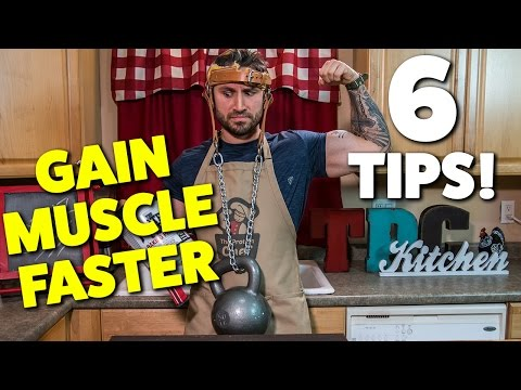 6 EASY QUICK TIPS ON BUILDING MUSCLE