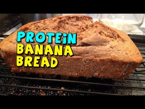 PROTEIN Banana Bread Recipe! (Low calorie/Nuts optional)