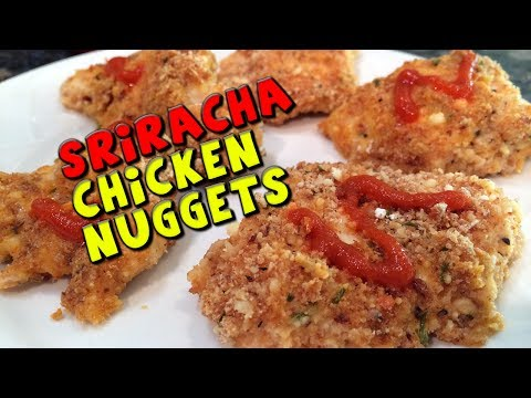 Sriracha CHICKEN Nuggets Recipe (Healthy)