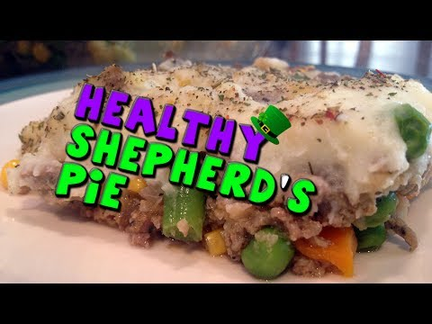 HEALTHY Shepherd's Pie Recipe (High Protein)