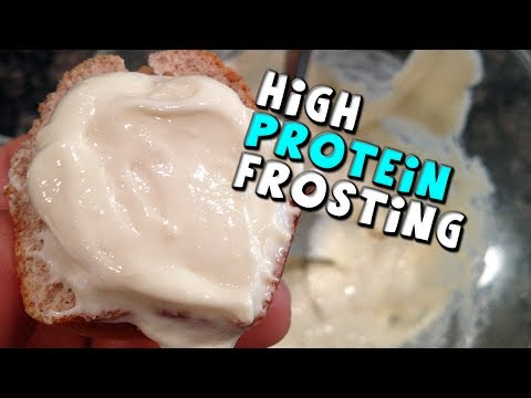 High PROTEIN Frosting Recipe! (No Fat 40g Protein)