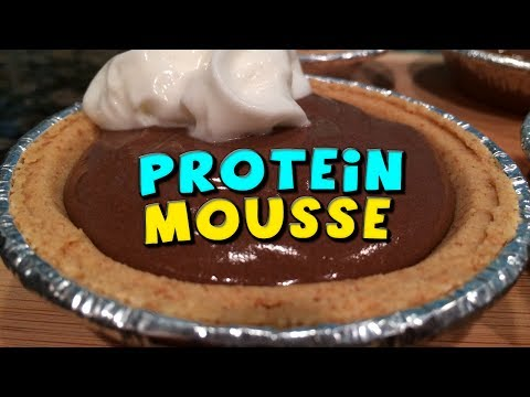 Healthy Low Calorie PROTEIN Mousse Recipe
