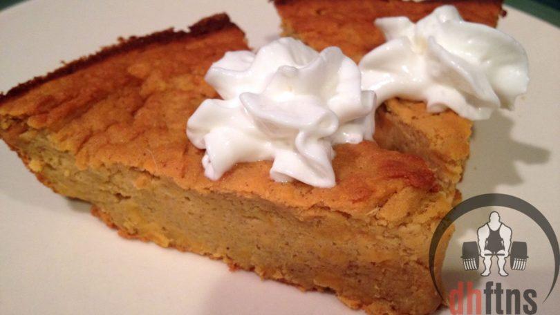 Sweet Potato Protein Pie Recipe