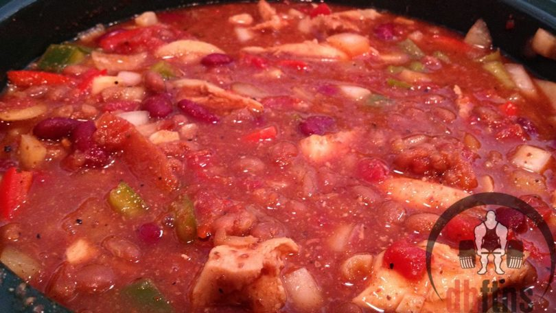 Bodybuilding Chicken Chili Recipe