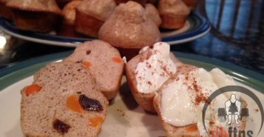 Mini Protein Carrot Cake Muffins Recipe