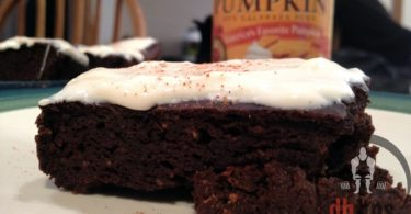 Protein Pumpkin Brownies Recipe
