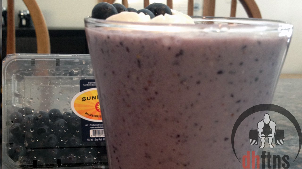 Blueberry Muffin Protein Shake Recipe
