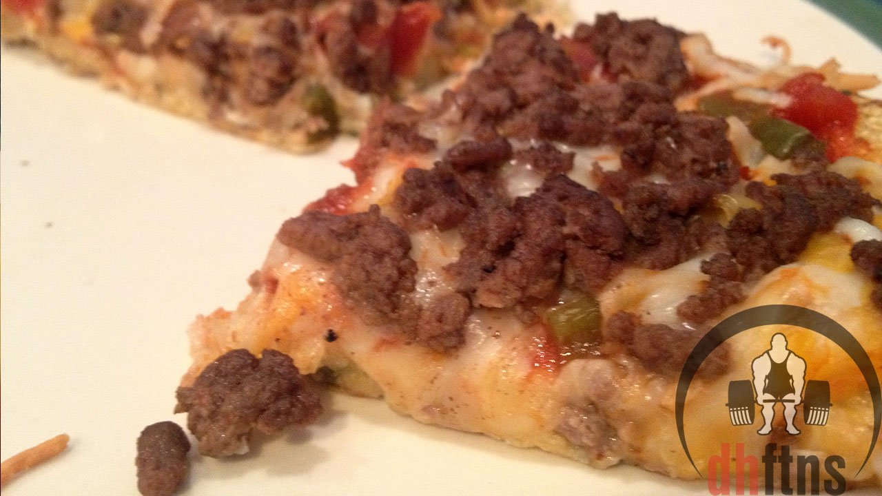 cauliflower pizza recipe low carb high protein. Black Bedroom Furniture Sets. Home Design Ideas