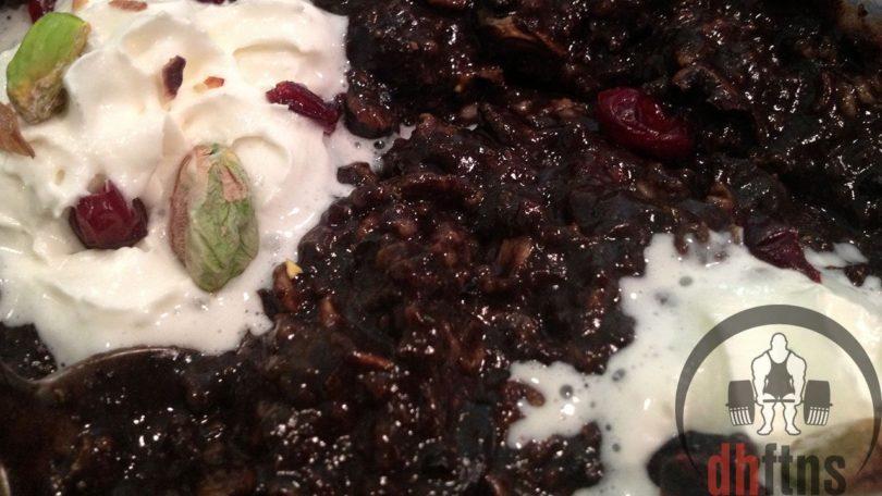 Pistachio Cranberry Protein Oatmeal Recipe