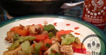 Sweet Sriracha Chicken Stir Fry Recipe