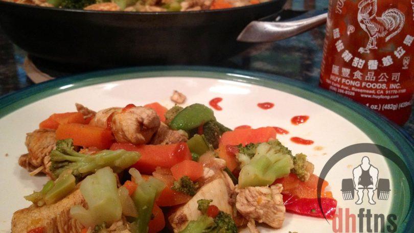 Sweet Sriracha Chicken Stir Fry Recipe