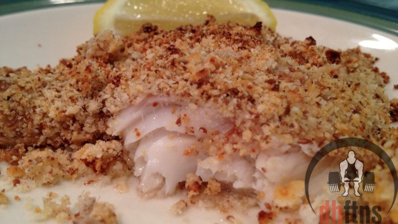 Baked Crusted Tilapia Recipe