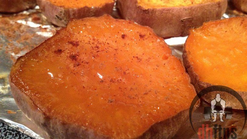 Cut Sweet Potatoes Recipe