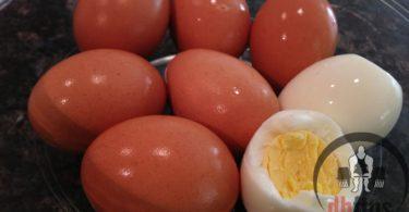 Easy Hard Boiled Eggs Recipe