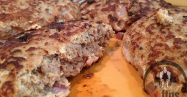 Garlic Turkey Burgers Recipe