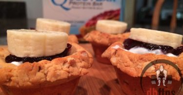 Banana PB&J Quest Cakes Recipe