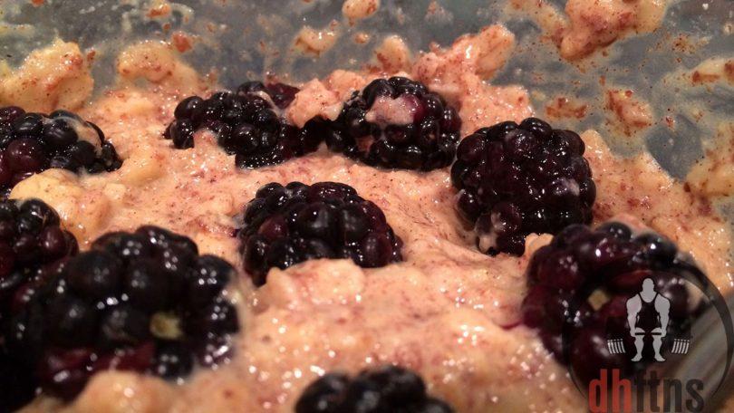 Blackberry Banana Protein Oatmeal Recipe