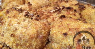 Baked Bacon Cornbread Chicken Recipe