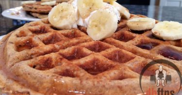 Protein Banana Nut Waffles Recipe
