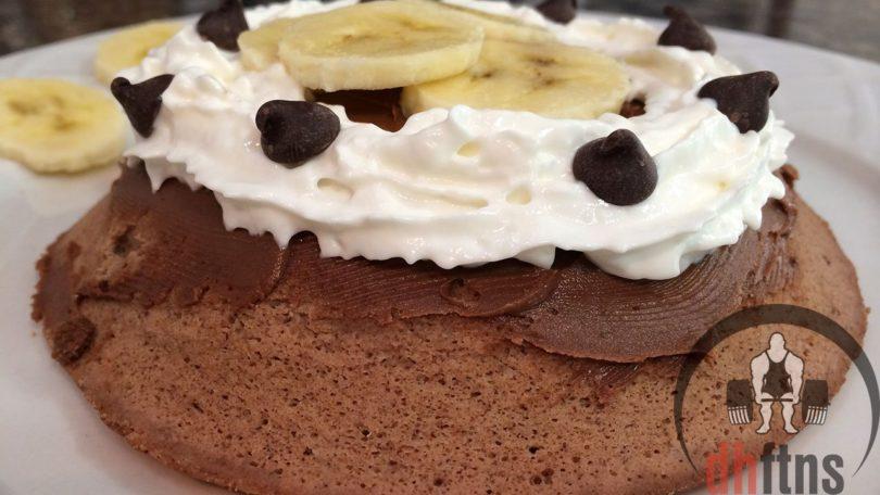 300 Calorie Microwave Protein Cake Recipe