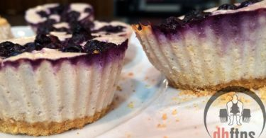 Mini Protein Blueberry Cheesecakes Recipe