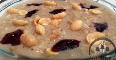 Peanut Butter & Jelly Protein Oatmeal Recipe