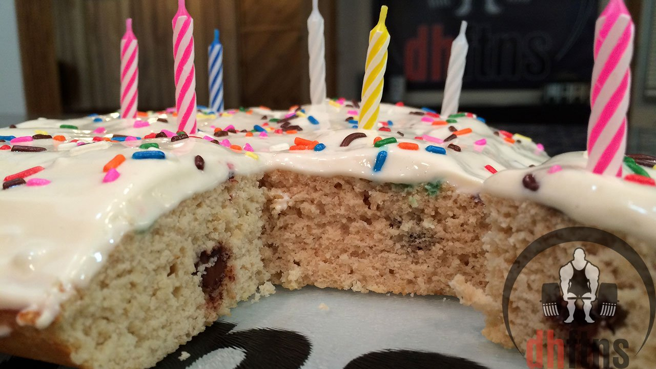 High Protein Birthday Cake Recipe With Frosting