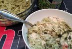 High Protein Fettuccine Alfredo Recipe