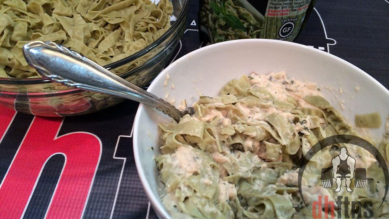 Tuna mushroom alfredo recipe
