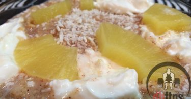 Pineapple Cake Protein Oatmeal Recipe