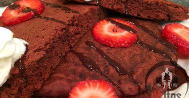 Red Velvet Protein Pancakes Recipe
