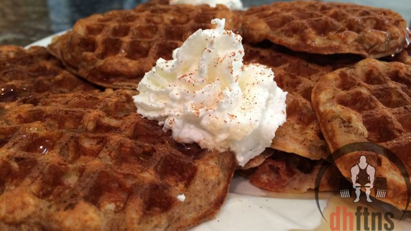 Mini Vanilla Protein Waffles Recipe