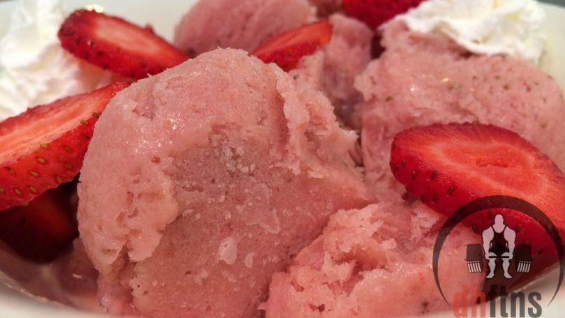 Protein Strawberry Sorbet Recipe
