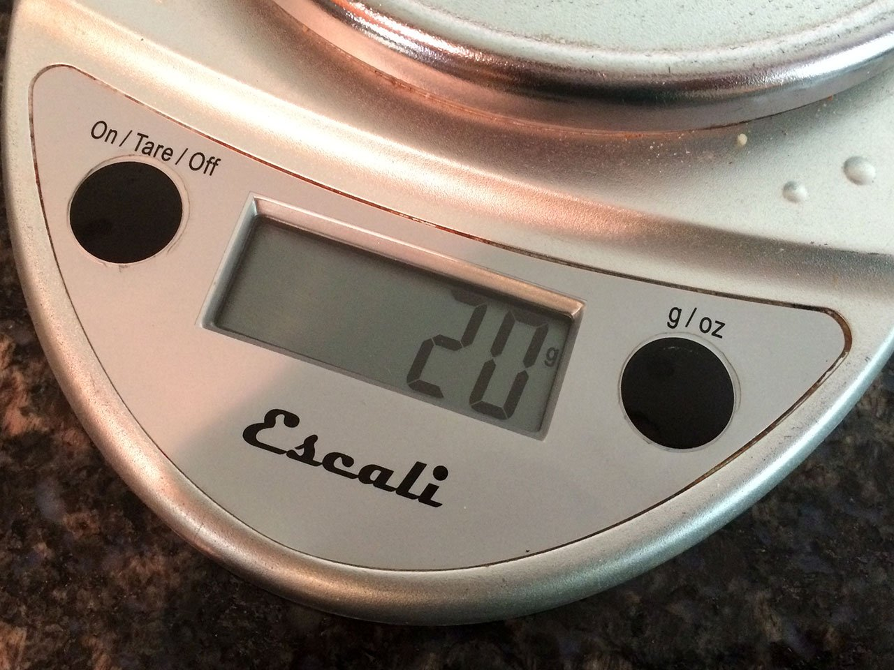 Escali Primo Digital Kitchen Scale Weight