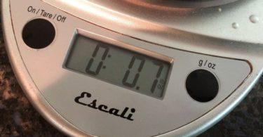 Escali Primo Digital Kitchen Scale Weight