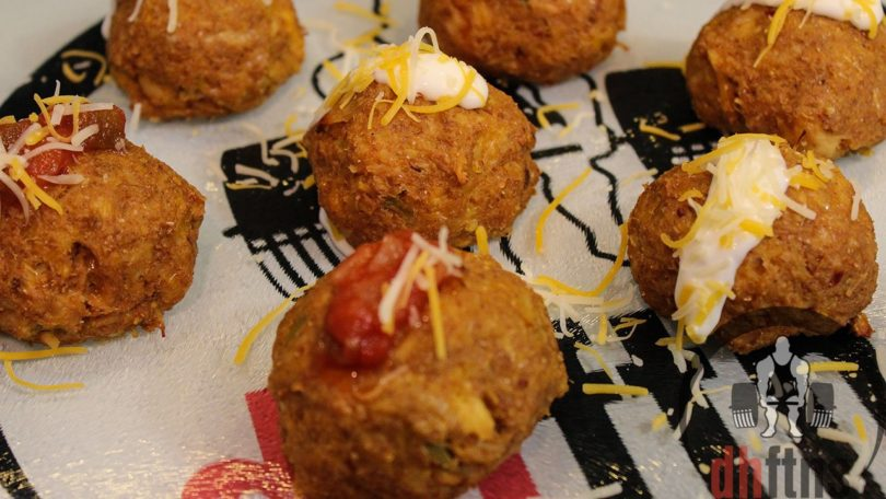 Canned Chicken Taco Balls Recipe