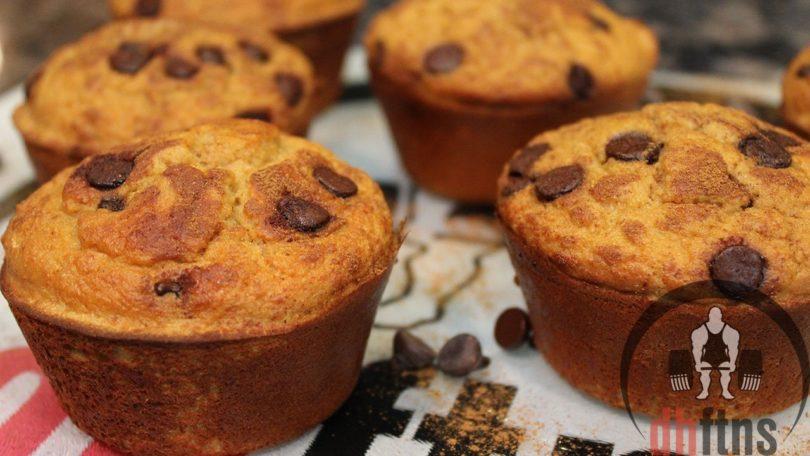 Coffee Cake Protein Muffins Recipe