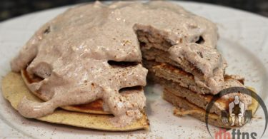 Cinnamon Roll Protein Pancakes Recipe