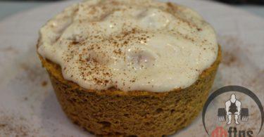 Microwave Protein Pumpkin Cake Recipe