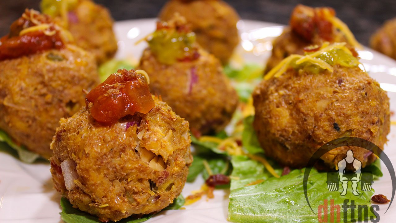 Canned Chicken Club Balls Recipe Protein Recipes Amp Protein Powder Recipes Healthy Amp Quick