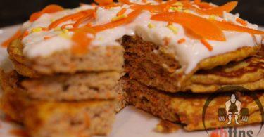 Carrot Cake Protein Pancakes Recipe