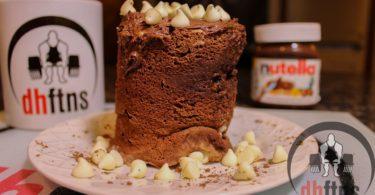 Nutella Protein Mug Cake Recipe