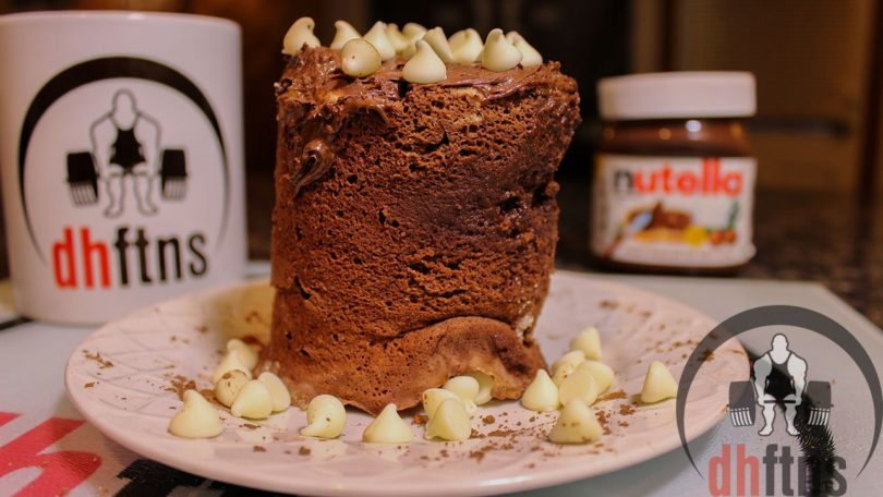 Nutella PROTEIN Mug Cake Recipe (Microwave)