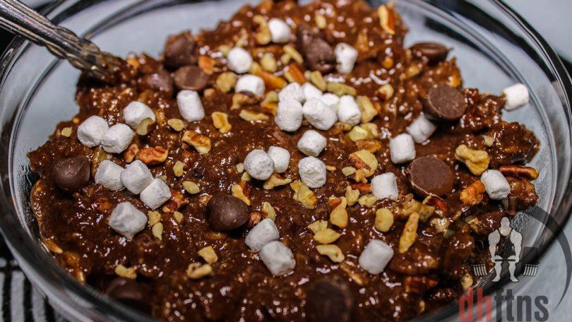 Rocky Road Protein Oatmeal Recipe