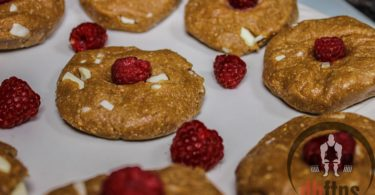 White Chocolate Raspberry Protein Cookies Recipe