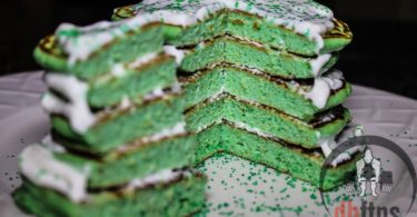 Protein Shamrock Pancakes Recipe