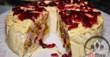 Peanut Butter & Jelly Protein Cheesecake Recipe