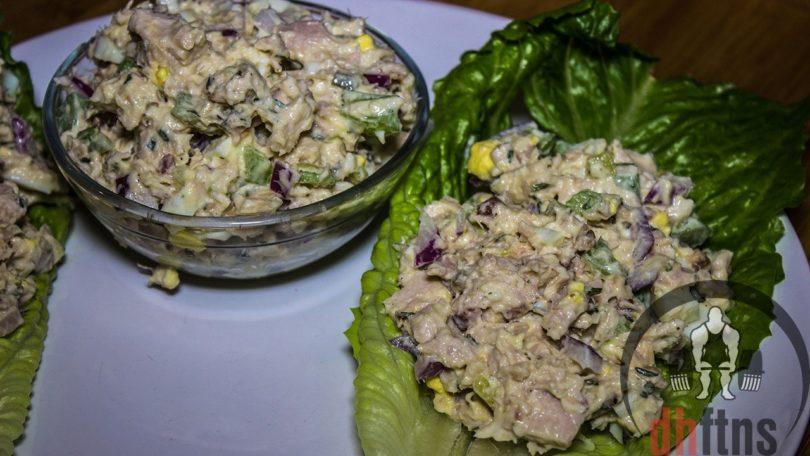 Bodybuilding Tuna Salad Recipe
