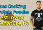 Does Cooking Protein Powder Destroy Or Denature It