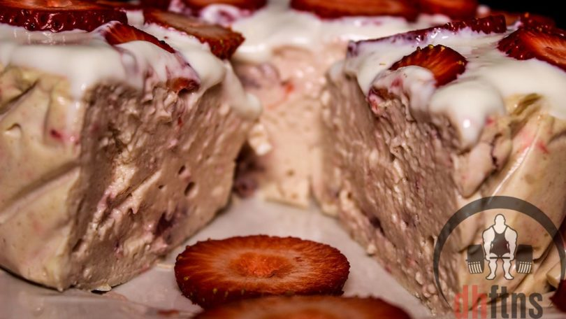 Strawberry Protein Cheesecake Recipe
